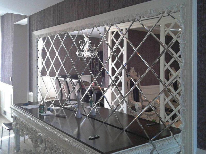 Зеркала на стенку, остекление фальцет Крым, Симферополь