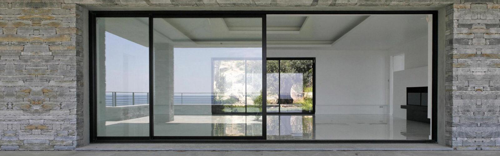 Раздвижные алюминиевые окна Симферополь
